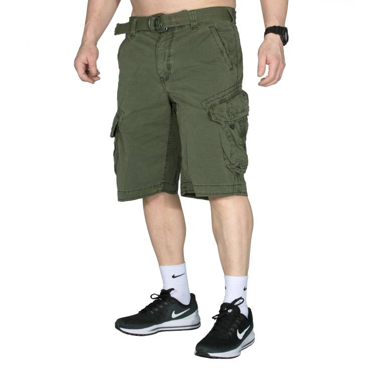 Take Off 3 - Cargo Short für Herren - Olive (36)