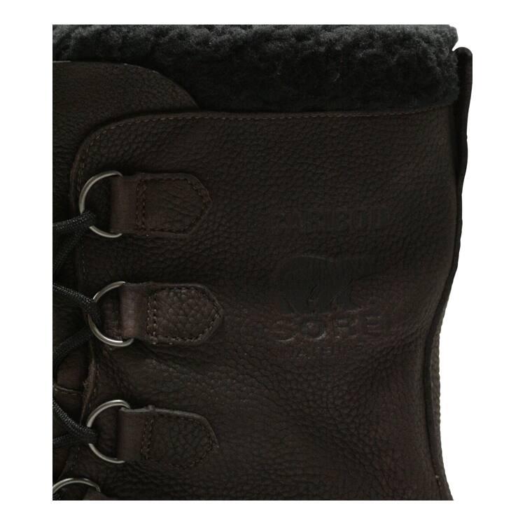 sorel caribou winterstiefel schwarz braun 46 2 3 159 85. Black Bedroom Furniture Sets. Home Design Ideas