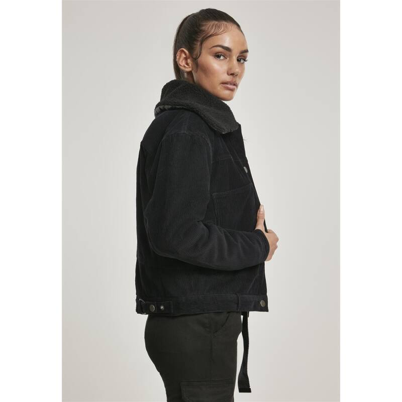 KERRY Damen Oversize Sherpa Cord Jacke (XS 5XL)
